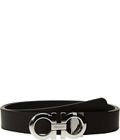 Salvatore Ferragamo - Adjustable & Reversible Gancini Belt - 675542