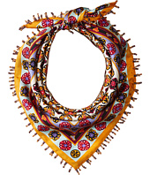 Tory Burch - Medallion Silk Neckerchief