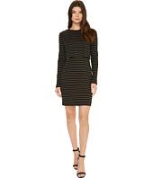 Nicole Miller - Twofer Vintage Striped Dress