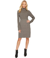 Adrianna Papell - Turtleneck Slim Sweater Dress