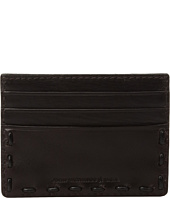 John Varvatos Star U.S.A. - Leather Pick-Stitch Credit Card