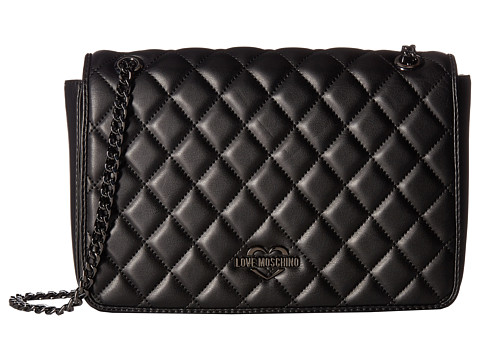 LOVE Moschino Metallic Quilted Shoulder Bag at Luxury.Zappos.com : moschino quilted shoulder bag - Adamdwight.com