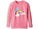 Love Knit Raglan Unicorn Rainbow Pullover (Little Kids/Big Kids)