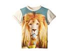 Summertime Lion Short Sleeve Tee (Toddler/Little Kids/Big Kids)