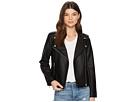 Amelie Textured Vegan Leather Jacket