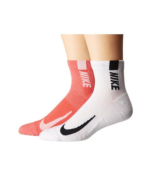 Multiplier Running Ankle Socks 2-Pair Pack