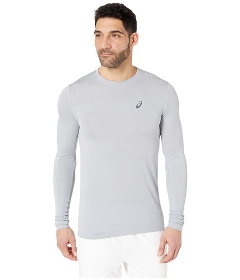 Long Sleeve Seamless Textured Top