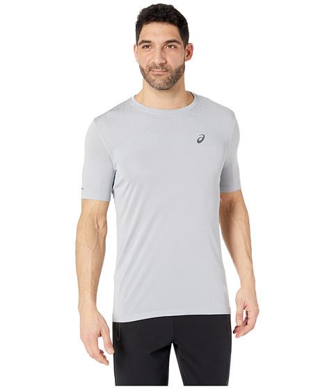 Short Sleeve Seamless Textured Top