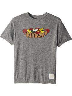 Vintage Tri-Blend Chicago Hot Dog T-Shirt (Big Kids)